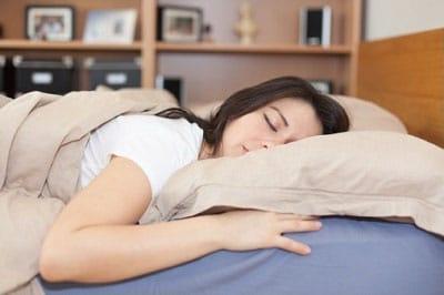 Op je buik slapen tijdens zwangerschap