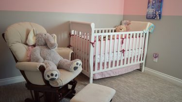 wieg babykamer