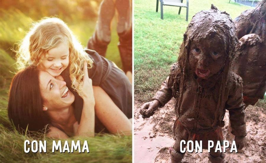 papa vs mama