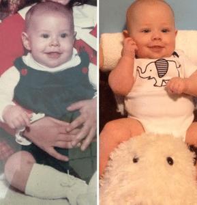 ouder kind gelijkenis