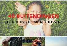 40 buitendingen doen kinderen