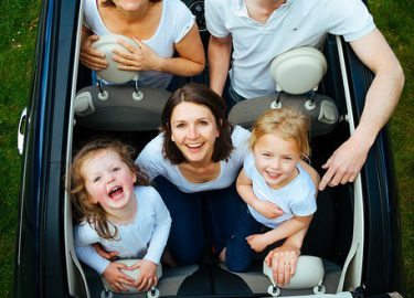 auto vakantie kinderen