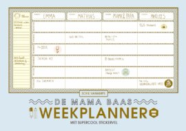 Mama Baas weekplanner win
