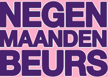 negenmaandenbeurs logo roze