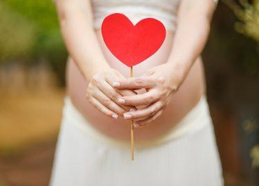 buik hart zwanger
