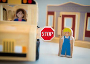 speelgoed bus stop
