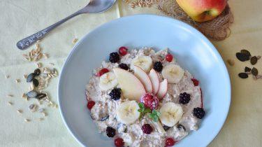 ontbijt appel banaan