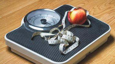 weegschaal meetlint appel