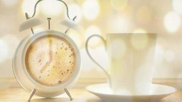 koffie wekker tijd