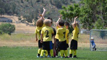 kinderen voetbal
