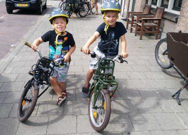 Leren fietsen met Popal