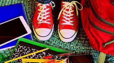 schoolspullen en schoenen