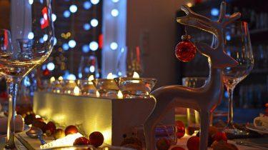 kerstdiner tafel