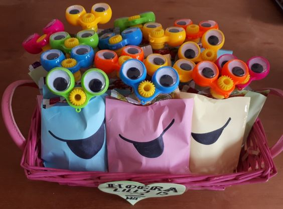 smiley traktatie organix