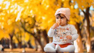 baby eet broodje