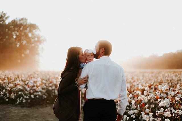 bruiloft met baby