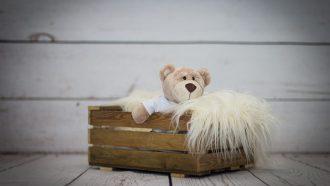 beer in houten kist