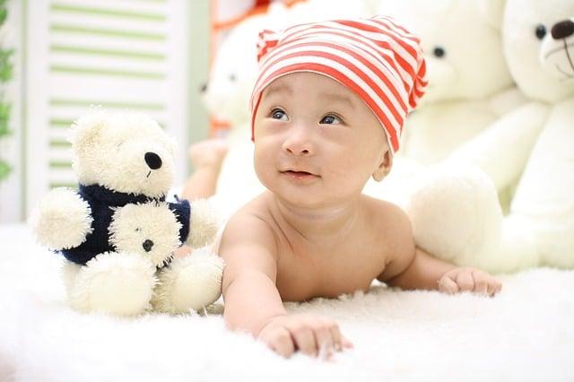 baby muts en knuffels