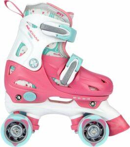 Meisje speelgoed 4 jaar rolschaatsen