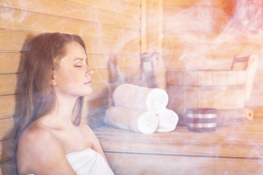Thuis tot rust komen sauna