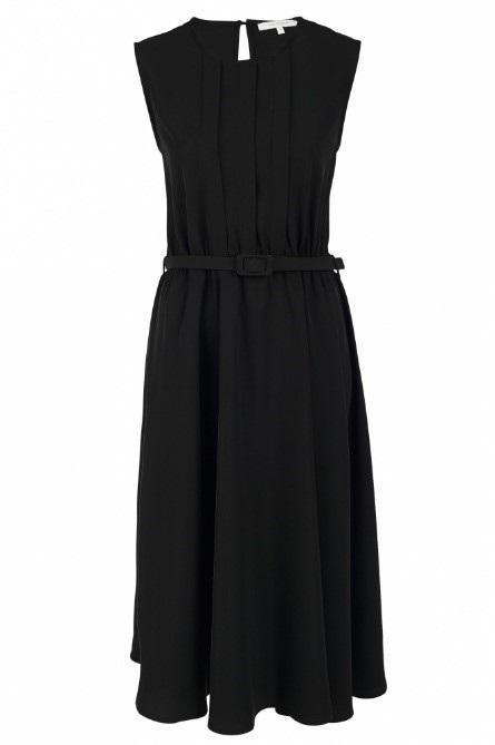 Luchtige zwarte jurk