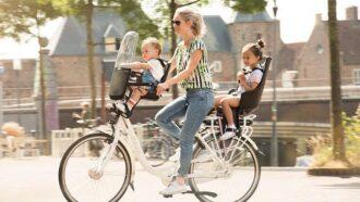 Uitkomst voor iedere moeder de elektrische moederfiets