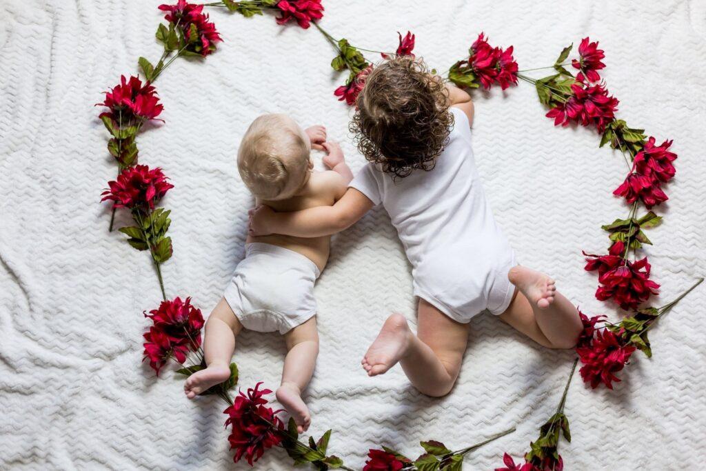 Baby foto's maken
