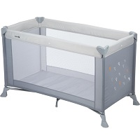 Safety 1st Soft Dreams Campingbedje - Warm Grey