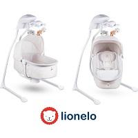 Lionelo Henny - Wieg en schommelstoel - Geschikt voor 0-36 maanden - Beige