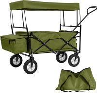 TecTake - Bolderkar transportkar bolderwagen groen